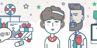 Christmas Party Infographic Header