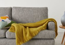 Mylo Mohair Throw featured