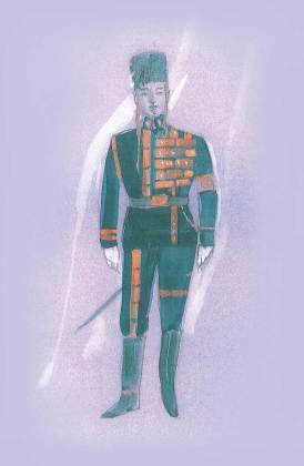 Fiyero Engagement Costume by Susan Hilferty