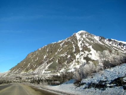 Mountain above Cantwell