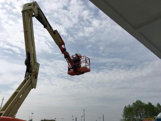 On a Crane
