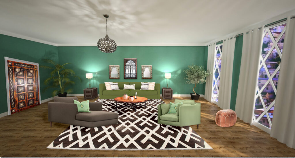 Get The Look Moroccan Style Interior Design Northern Lights Home Staging And Design