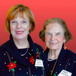 NOOL (Northern Ohio Opera League) Holiday Party, Beechmont C/C. Cathy & Emma Lincoln.