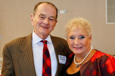 NOOL (Northern Ohio Opera League) Holiday Party, Beechmont C/C. William Fraser & date.