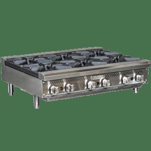 6 Open Burner Heavy Duty Hot Plate RHP-36-6