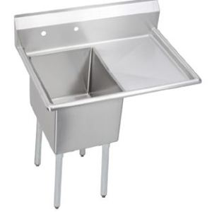 Single Compartment Sink with Right Hand Drainboard SW0542