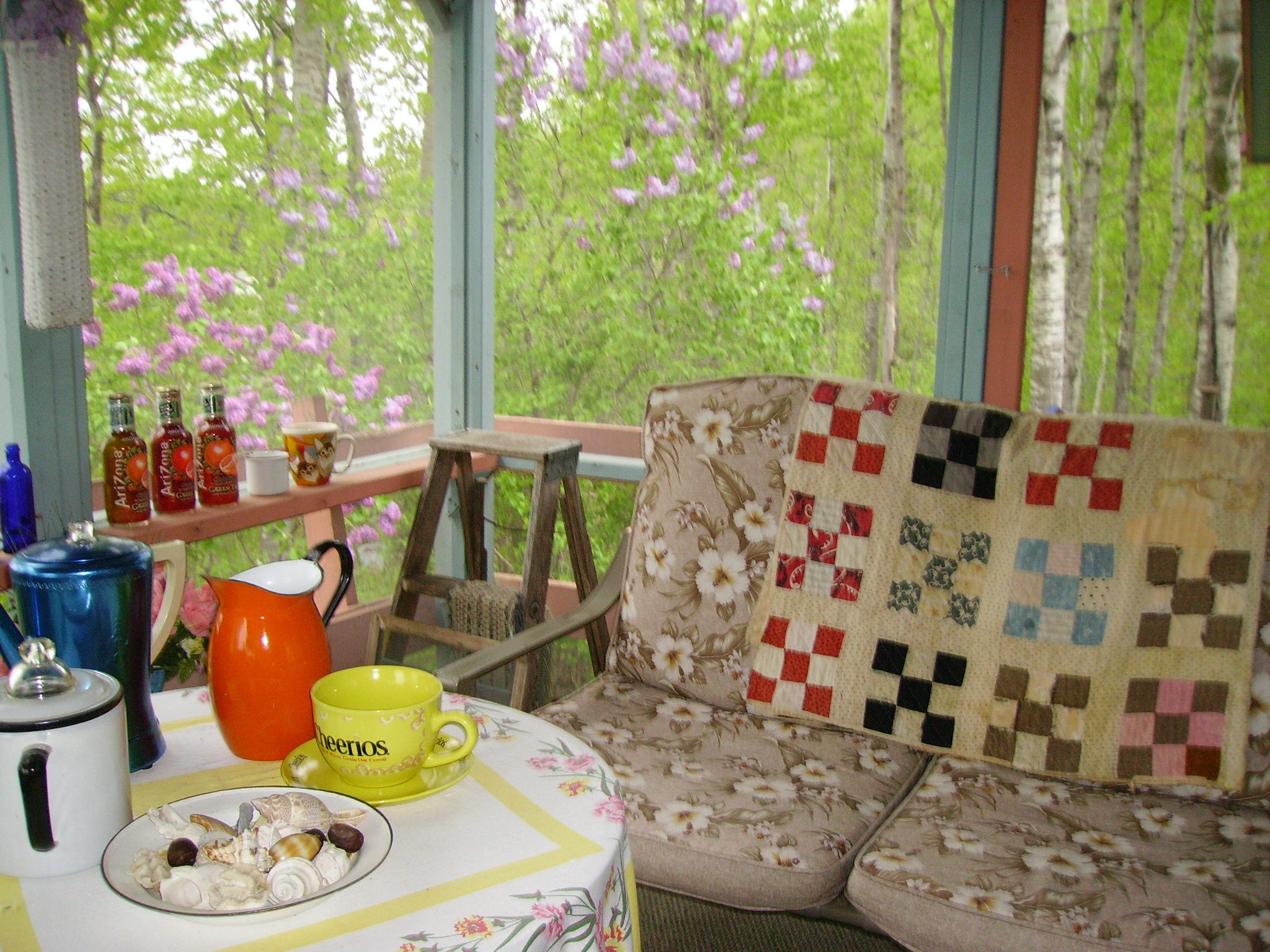 Retreat Center with Grandma's Quilt