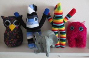 Make it Wednesday's gang of critters