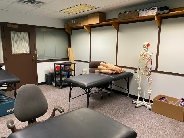 Second clinical room