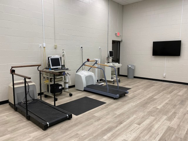Treadmills for VO2 testing and ECG