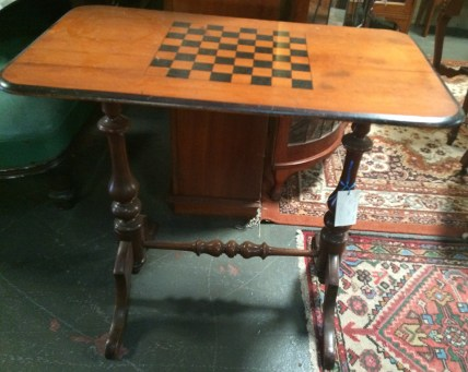 Northern Rivers Antiques - 1890's Cedar & Kauri Pine Games Table