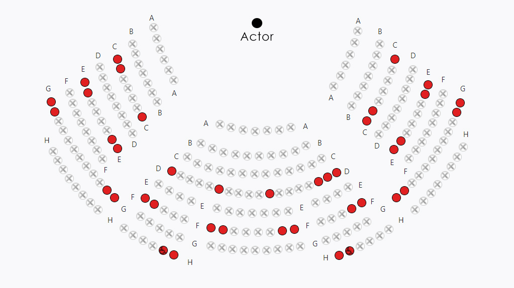 Example seat map better with actor