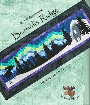Borealis Ridge Row by Row 2016