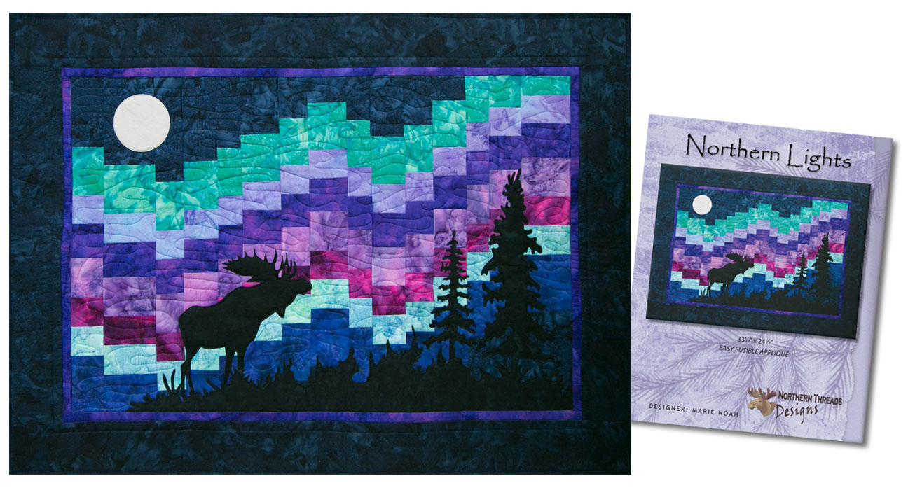 Northern Lights Quilt by Marie Noah