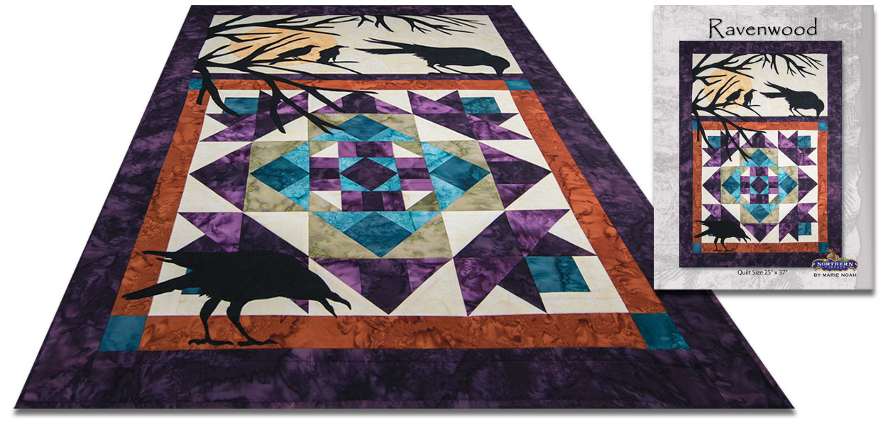 Easy Applique Art Quilt by Marie Noah