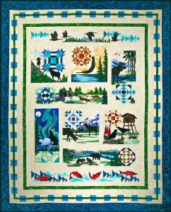 Wilderness-Ridge-Quilt by Marie Noah