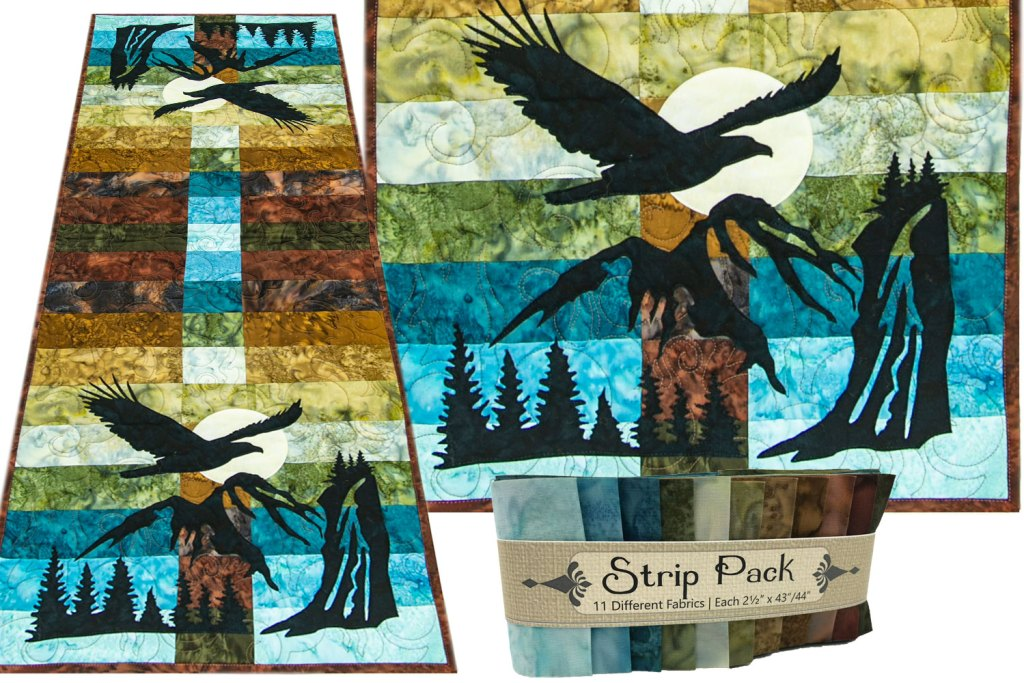 Wildwood Soaring Eagle Laser Cut Applique Set by Marie Noah