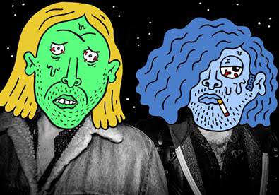 Garage duo Love Buzzard drop Superglue video - Northern Transmissions