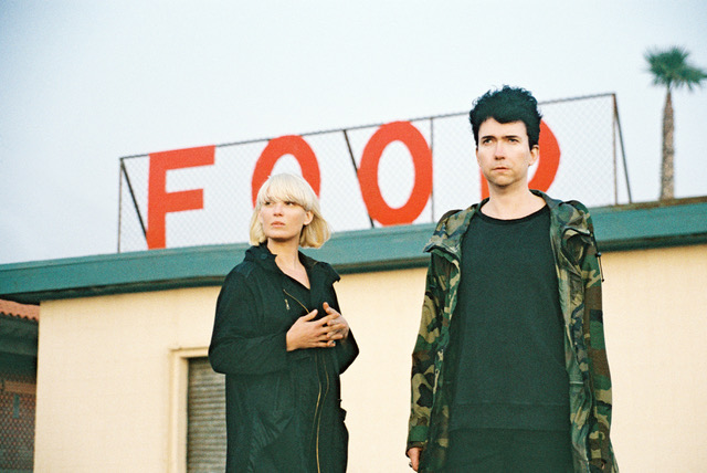 The Raveonettes share their new track 'Fast Food'. The song is the band's penultimate offering from their RAVE-SOUND-OF-THE-MONTH playlist
