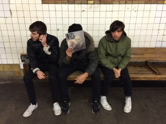 "Heat share new single ""Sometimes"", the track is off their forthcoming LP 'Overnight'"