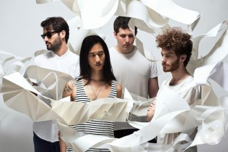 """Less Acrobats debut """"Floating Opera"""" the track is off the quartet's debut EP, Stanza,"""