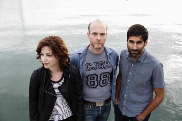 """The Rural Alberta Advantage stream new single """"Beacon Hill""""."""
