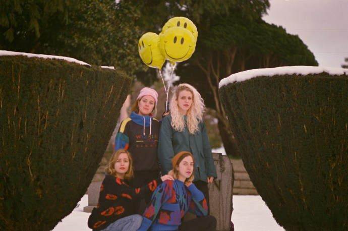 Chastity Belt announce new album 'I Used to Spend So Much Time Alone'