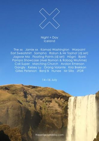 The xx announce Night + Day Iceland.