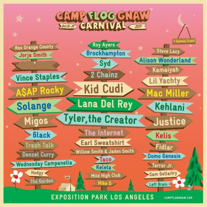 0ad6ac9e2495 Camp Flog Gnaw Carnival announces lineup - Northern Transmissions