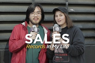 Sales guest on 'Records In My Life'. They are touring behind their album 'Forever & Ever.'