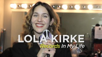 Lola Kirke joined Records In My Life backstage after her performance opening for Alex Cameron at the Wise Hall in Vancouver, Canada