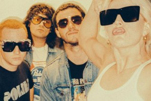"Australian Band Amyl and the Sniffers have shared their new single ""Gacked On Anger."" The track is off their current self-tited release, now out via ATO"