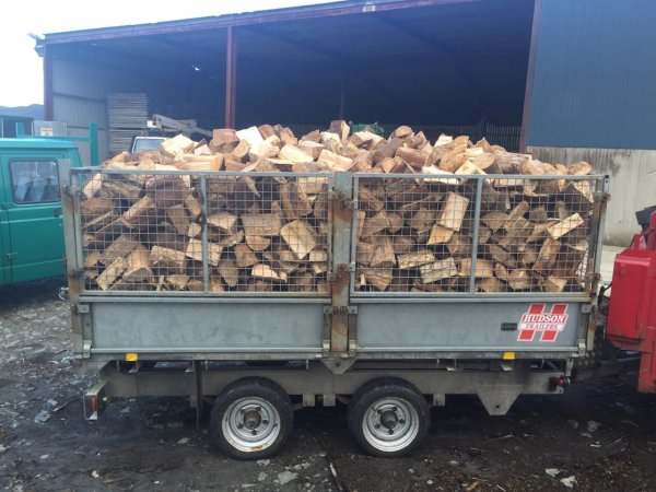 Load of logs for firewood - 6.5 cubic metres