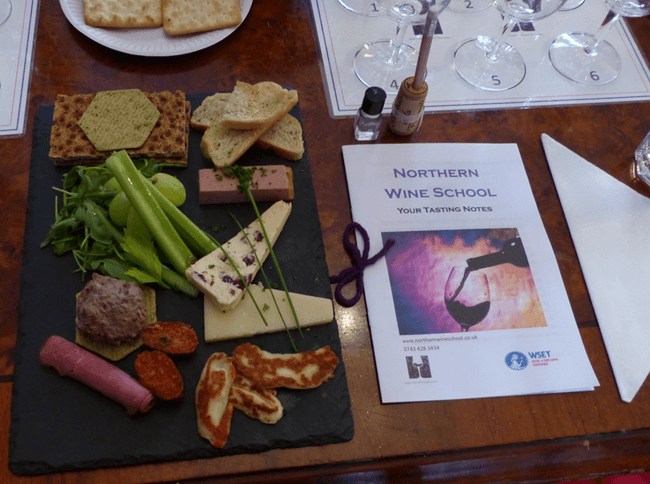 Food and wine matching Manchester