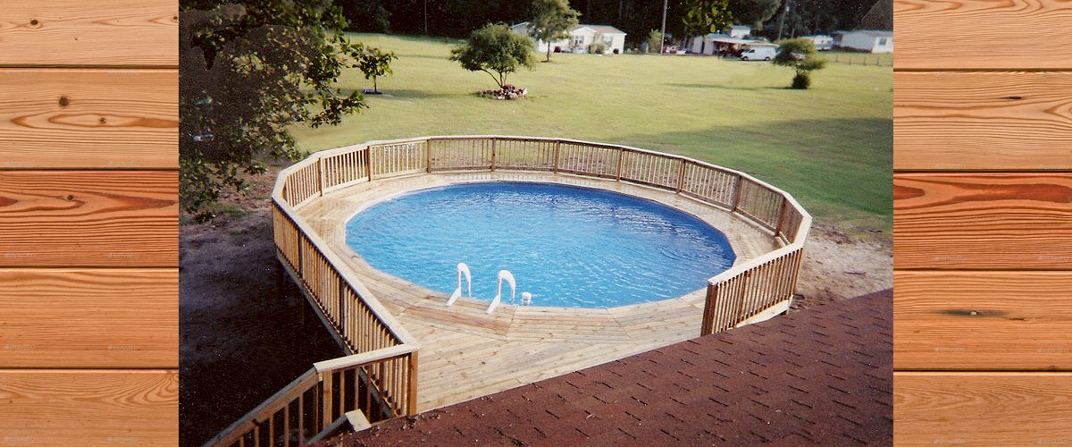 Above Ground Pool Decks