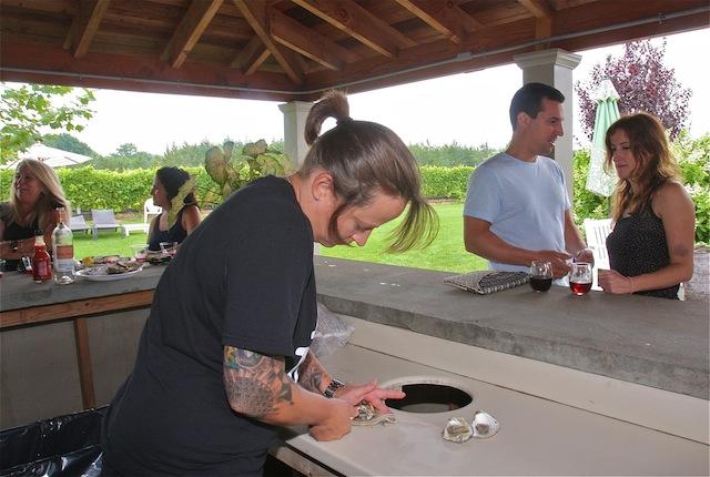 jamesport vineyards oyster bar