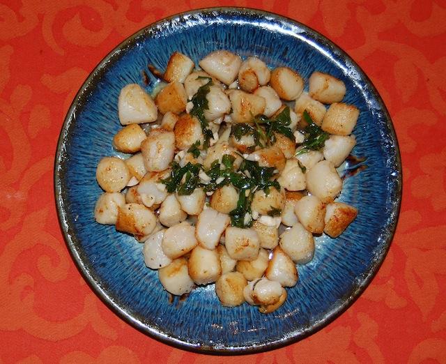 recipe peconic bay scallop