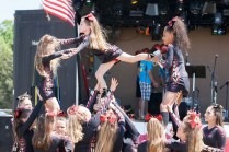 Performance by North Fork Cheer.