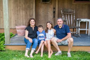 Cedar House on Sound Family