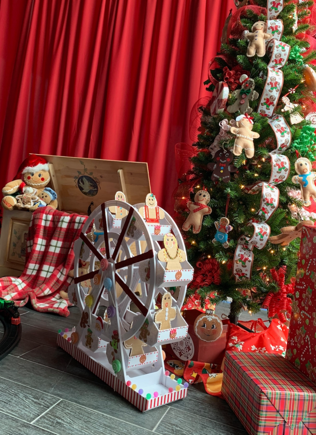 Immerse yourself in the holidays at the new Christmas House Long