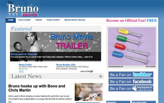 Bruno homepage
