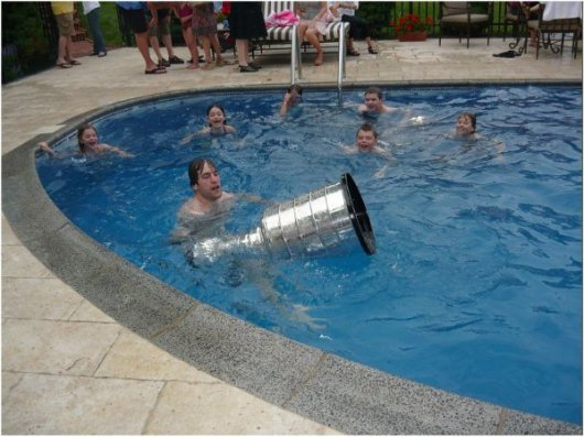 Mario Lemieux Stanley Cup Party