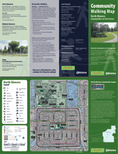 North Glenora Walking Map