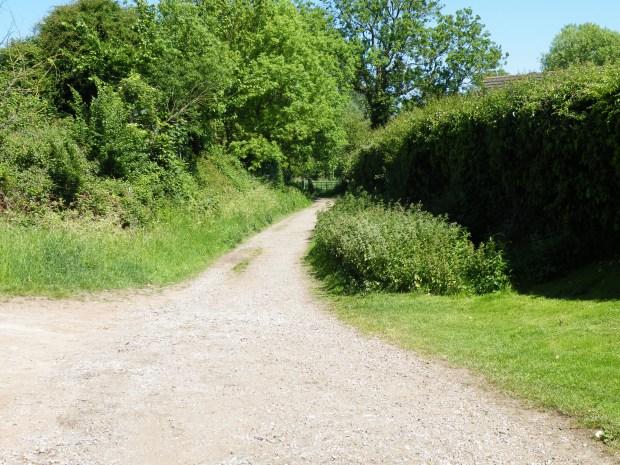 Icknield Way at Ickleford, North Hertfordshire