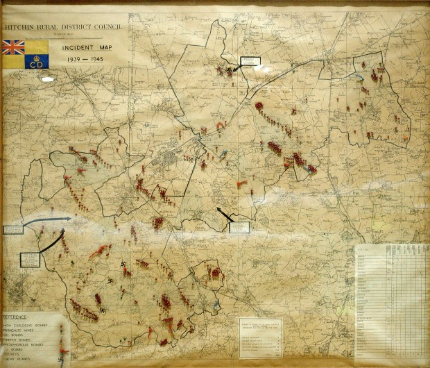 Hitchin Rural District Council's Incident Map