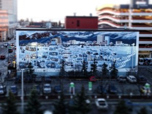Anchorage History on a Wall (Anchorage)