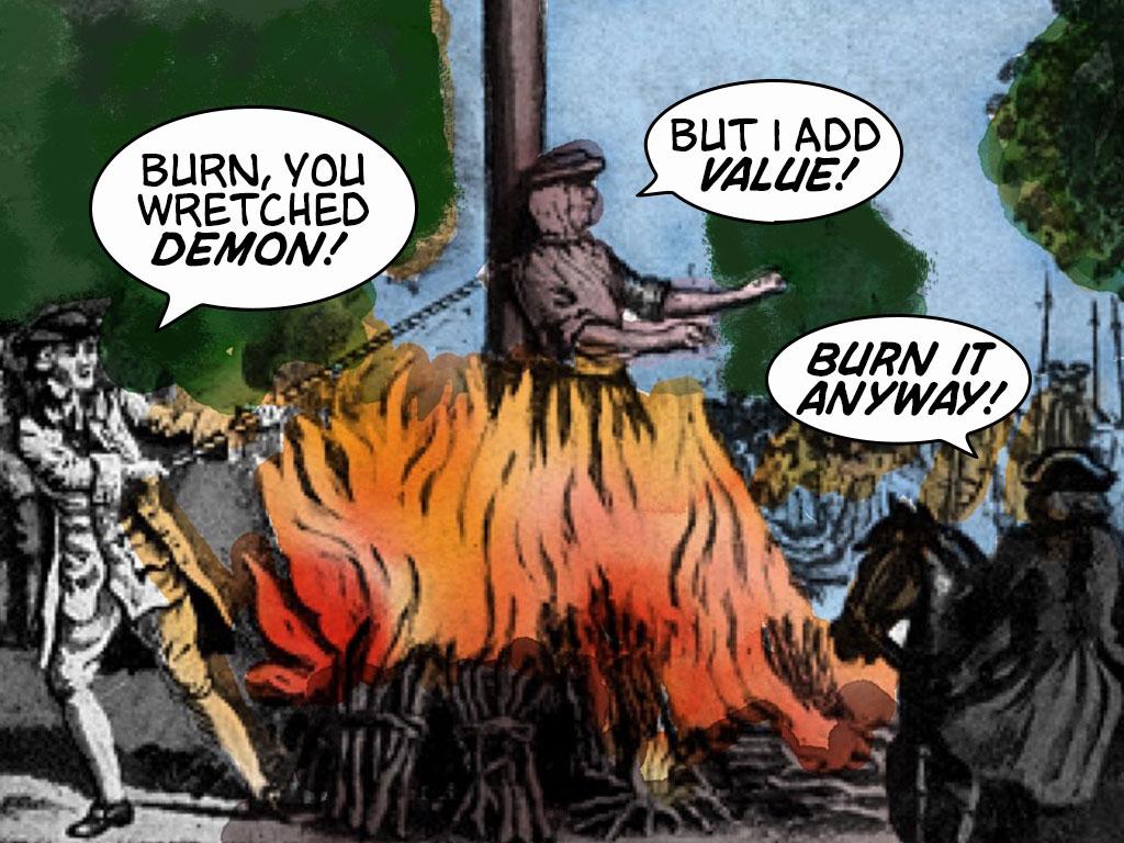 Burn It Anyway!
