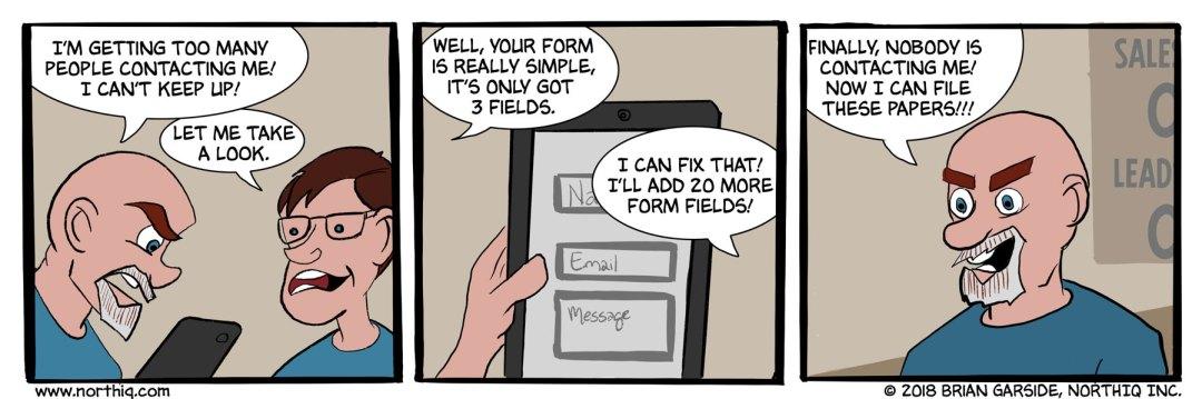 Contact Us NorthIQ Comic