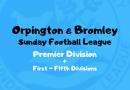 OBDSFL Season 2019/20 – Premier + First to Fifth Divisions