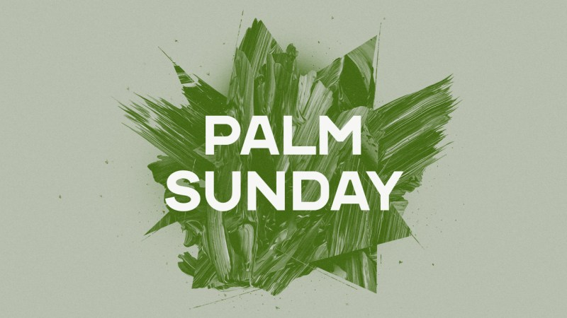 Palm Sunday: Jesus Image